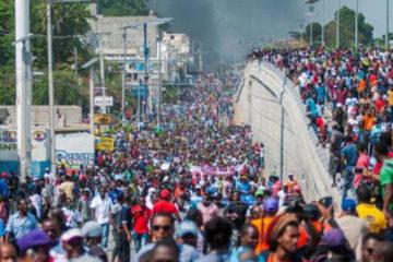 Haitianos exigen la renuncia de Jovenel Moise