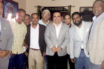 Víctor Pavón promete resolver problemas de municipio Santo Domingo Norte