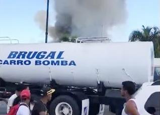 Se registra incendio en depósito de almacenamiento de ron Brugal