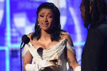 Cardi B, primera mujer en llevarse el mejor álbum de rap