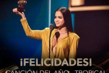 Natti Natasha gana dos Premios Lo Nuestro