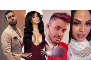 Natti Natasha, Romeo Santos, Cardi B y Prince Royce nominados a los Latin Billboard