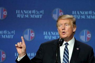 """Trump: Corea del Norte """"no está lista"""" para renunciar a su programa nuclear"""