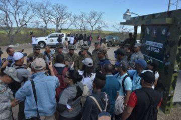 Comandante General del Ejército recorre junto a aspirantes al Concurso de Periodismo Guarnición, frontera norte del país