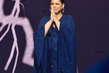 Juliana impresiona en Premios Soberano con mensaje motivador