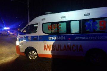 Lesionados  en accidente carretera Jarabacoa-La Vega fueron asistidos por asistencia vial del MOPC