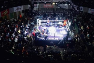 "ED2 Show Time revienta el coliseo Carlos Teo Cruz con cartelera de boxeo ""Knock Out Night"""