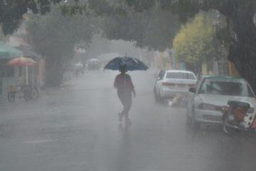Onamet pronostica aguaceros y tronadas por efectos de vaguada en varias zonas del país