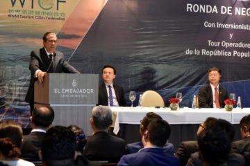 Ministro de Turismo encabeza foro de negociaciones con inversionistas y turoperadores chinos