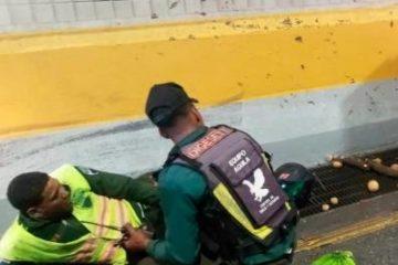 Un muerto y cuatro heridos en accidente de tránsito en el túnel de Las Américas