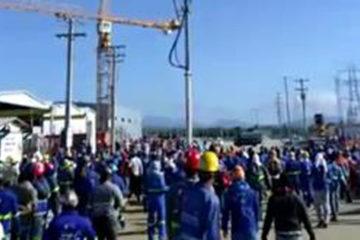 Empleados protestan en Punta Catalina tras no pagar la bonificación