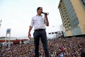 Guaidó asegura que no habrá una intervención militar en Venezuela