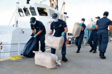 La Guardia Costera de EE.UU. decomisa ocho toneladas de marihuana y cocaína