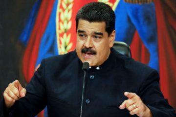 Maduro dice contar con la «total lealtad» de los jefes militares de Venezuela