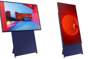 Samsung Sero: el televisor vertical con que la tecnológica surcoreana apuesta para llegar a los millenials