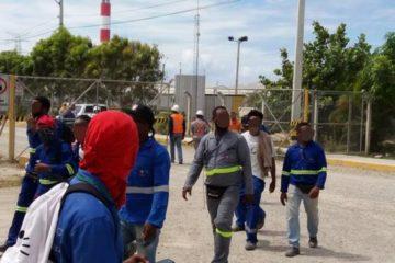 """Empleados de Punta Catalina dicen """"Odebrecht no se va a quedar con el sudor de los trabajadores"""""""