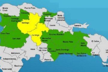 Aguaceros continuarán martes y miércoles; COE mantiene 15 provincias en alerta