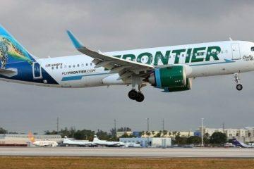 La aerolínea Frontier inaugura ruta entre Punta Canta y Florida