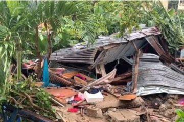 Madre e hija mueren tras el colapso de pared de vivienda en Manoguayabo