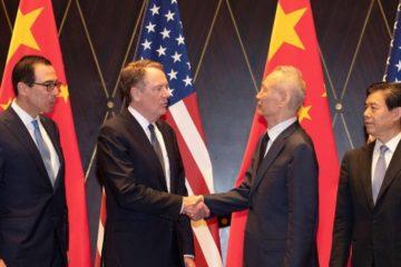 """EEUU y China retomarán negociación comercial a """"comienzos de septiembre"""""""