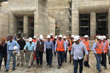 Presidente Danilo Medina conoce avances de construcción en Presa Monte Grande