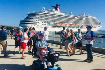 Crucero que inauguró operaciones del Puerto de Maimón regresó hoy con seis mil turistas a bordo