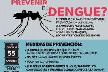 ¿Qué puede hacer para prevenir el dengue?