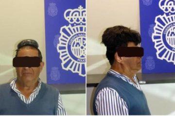 Detienen hombre que ocultaba medio kilo de cocaína debajo de su peluquín