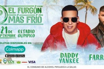 """Cerveza trae el """"Furgón más frío"""" este 21 de septiembre con Daddy Yankee y Farruko"""