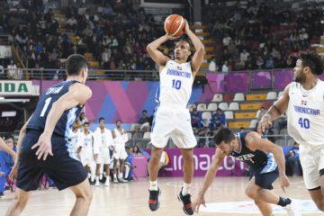 Dominicana cae ante Argentina en baloncesto