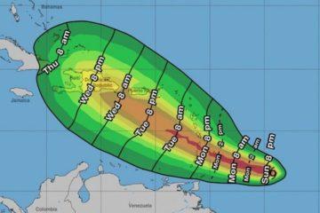 Tormenta se fortalece en trayectoria hacia el Caribe