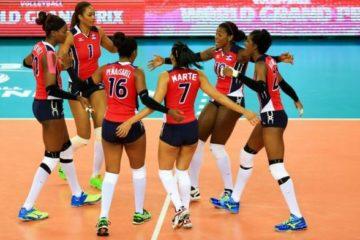 Reinas del Caribe vencen a Argentina 3-0 en Copa Mundial Femenina de Voleibol