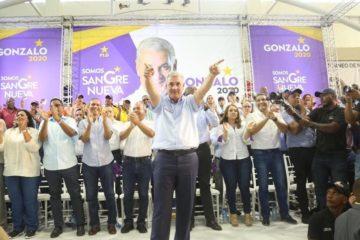 Gonzalo se define como un político moderno del siglo XXI; rechaza ejercicio negativo de la política