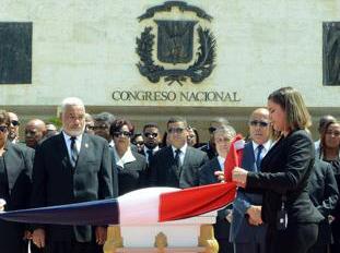El Congreso rinde un homenaje póstumo a alcalde Boca Chica