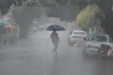 Lluvias seguirán en hoy por efectos de vaguadas