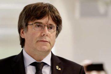 Cataluña paralizada por huelgas, marchas van a Barcelona y Puigdemont se presenta ante la justicia belga