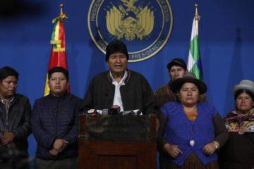 La renuncia de Morales deja un vacío de poder en Bolivia