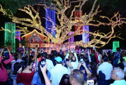Alcaldía de Santiago da apertura a las fiestas navideñas