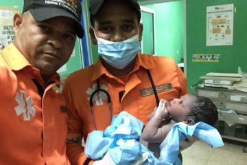 Nace octavo bebé a bordo en ambulancia Programa de Protección y Asistencia Vial