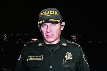 César Peralta se encontraba en Colombia desde el mes de agosto
