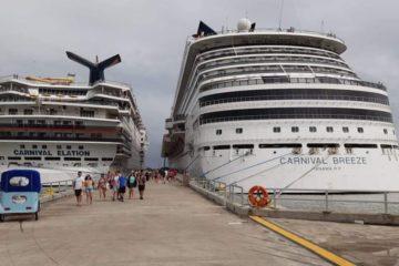 Sigue pujanza del turismo de cruceros en terminal Amber Cove, Puerto Plata