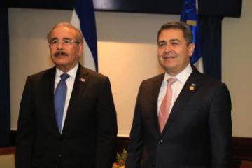 RD y Honduras firman convenio de cooperación en materia de viviendas y presas