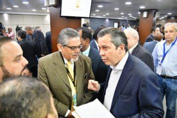 Delegados políticos de partidos solicitan a JCE impresión de nuevas boletas e incineración de viejas