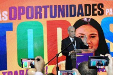 Gonzalo presenta nuevos spots de campaña y reafirma compromiso de crear mayores oportunidades