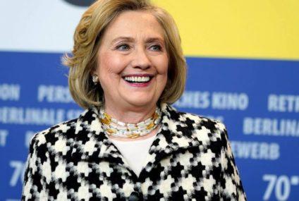 "Hillary Clinton celebra condena a Weinstein: ""era hora de rendir cuentas"""