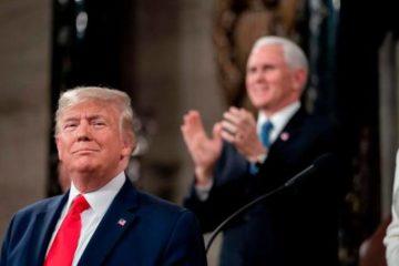 Trump celebra el fin de su juicio político con un discurso crudo y vengativo