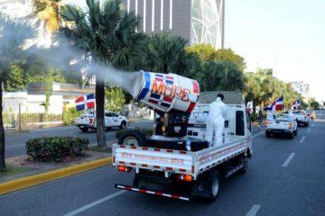 MOPC adquiere camiones con tecnología de Wuhan para desinfectar comunidades