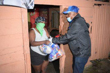 Plan Social entrega alimentos a más de 27 Mil familias en menos de 48 horas en GSD