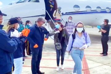 VIDEO; Llegada de estudiantes desde Cuba ante el coronavirus en aviones facilitado por Gonzalo Castillo