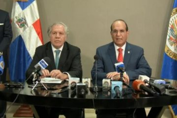 OEA y JCE firman acuerdo para auditoría técnica a equipos de elecciones suspendidas